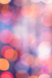 Christmas background. Festive abstract background with bokeh defocused lights and stars.  Royalty Free Stock Image