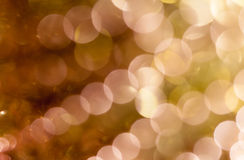 Christmas background. Festive abstract background with bokeh defocused lights and stars.  Royalty Free Stock Photos