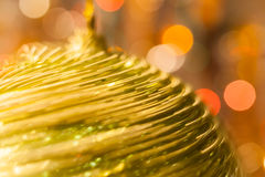 Christmas background. Festive abstract background with bokeh defocused lights and stars.  Stock Photos