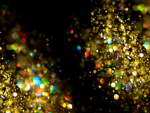 Christmas background. Festive abstract background with bokeh defocused Stock Image