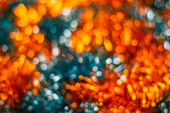 Christmas background. Festive abstract with bokeh defocused lights. Christmas background. Festive abstract background with bokeh defocused lights and stars Stock Photos