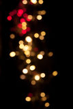 Christmas background. Festive elegant abstract background with b. Okeh lights and stars, copy space Royalty Free Stock Photos