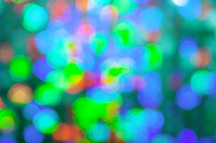 Christmas background. Festive elegant abstract background with bokeh. Lights Royalty Free Stock Images