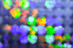 Christmas background. Festive elegant abstract background with bokeh. Lights Royalty Free Stock Photography