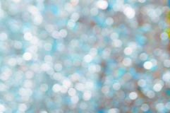 Christmas background. Festive elegant abstract background with bokeh. Lights Stock Photography