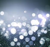 Christmas background. Festive elegant abstract background with bokeh  lights Stock Images