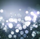 Christmas background. Festive elegant abstract background with bokeh  lights. Christmas background. Festive elegant abstract background with silver bokeh  lights Stock Images