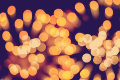 Christmas background. Festive elegant abstract background with bokeh lights and stars Stock Photo