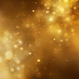 Christmas background. Festive xmas abstract background with bokeh defocused lights and stars Stock Photos