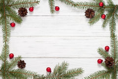 Christmas background. With fir tree Stock Image