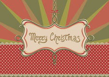 Christmas background and frame Stock Photos
