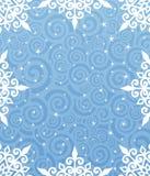 Christmas background. Christmas frame. New year theme. Vector illustration Stock Photography