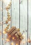Christmas background frame Stock Images