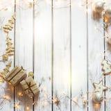 Christmas background frame Stock Photography