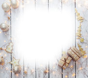 Christmas background frame Royalty Free Stock Photography