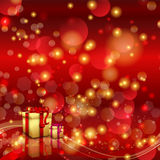 Christmas background with gifts. Christmas background with luxury gifts Royalty Free Stock Images