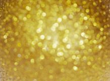 Christmas background. Gold Holiday Abstract Glitter Defocused Background. Blurry Bokeh. Christmas background. Gold Holiday Abstract Glitter Defocused Background royalty free illustration