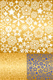 Christmas Background. Gold Stock Photography