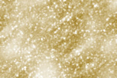 Christmas Background. Golden Holiday Abstract Glitter Defocused Stock Photos