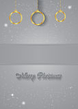 Christmas Background gray. Christmas background for seasonal cards and event, posters Stock Illustration