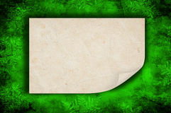 Christmas background. Green christmas background Royalty Free Stock Image
