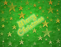 Christmas background green Stock Photography
