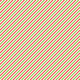Christmas background with green, red and white diagonal stripes  Royalty Free Stock Images