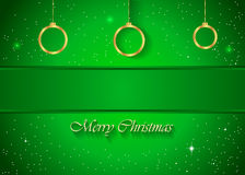 Christmas Background green. Christmas background for seasonal cards and event, posters Vector Illustration