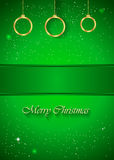 Christmas Background green. Christmas background  for seasonal cards and event, posters Royalty Free Illustration