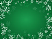 Christmas background green. Stock Photo