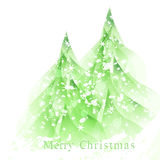 Christmas Background. Christmas Greeting Card. Merry Christmas lettering,  illustration Royalty Free Stock Photo