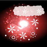 Christmas background and greeting card vector Royalty Free Stock Photo