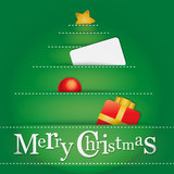 Christmas background for greeting cards. Vector Christmas background for greeting cards with blank space to write. Within the EPS file elements are . Only the Royalty Free Stock Images