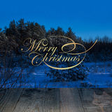 Christmas background and greeting merry Christmas Stock Image