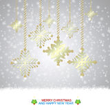 Christmas Background. Happy Christmas background abstract design royalty free illustration