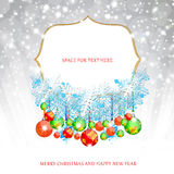 Christmas Background. Happy Christmas background abstract design Royalty Free Stock Photography