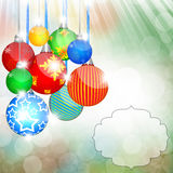 Christmas Background. Happy Christmas background abstract design Royalty Free Stock Images