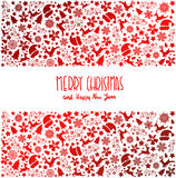 Christmas background. Happy new Year. Red Gradient. Vector. Christmas background. Happy new Year. Red Gradient Vector Royalty Free Stock Image