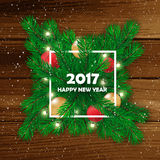 Christmas background. Happy new Year. Vector illustration. Christmas background. Happy new Year. Vector illustration Royalty Free Stock Photography
