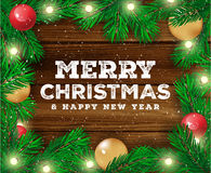 Christmas background. Happy new Year. Vector illustration. Christmas background. Happy new Year. Vector illustration Stock Images