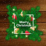 Christmas background. Happy new Year. Vector illustration. Christmas background. Happy new Year. Vector illustration Royalty Free Stock Photo
