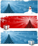 Christmas background headers Royalty Free Stock Image
