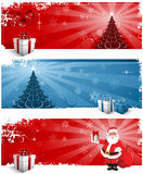Christmas background headers Stock Photos
