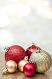 Christmas background. Christmas Holiday Background with Copy Space Stock Photos