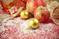 Christmas Background / Holiday Decorations stock photo