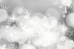 Christmas background with holiday lights Royalty Free Stock Photography