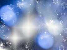 Christmas background with holiday lights Royalty Free Stock Photos