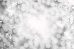 Christmas background with holiday lights Royalty Free Stock Photo