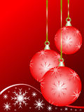 Christmas background illustration Stock Photo