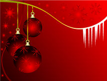 Christmas background illustration Stock Photography